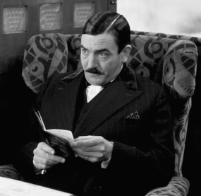 Albert Finney as 'Orient Express'  Poirot