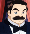 Hercule Poirot cartoon
